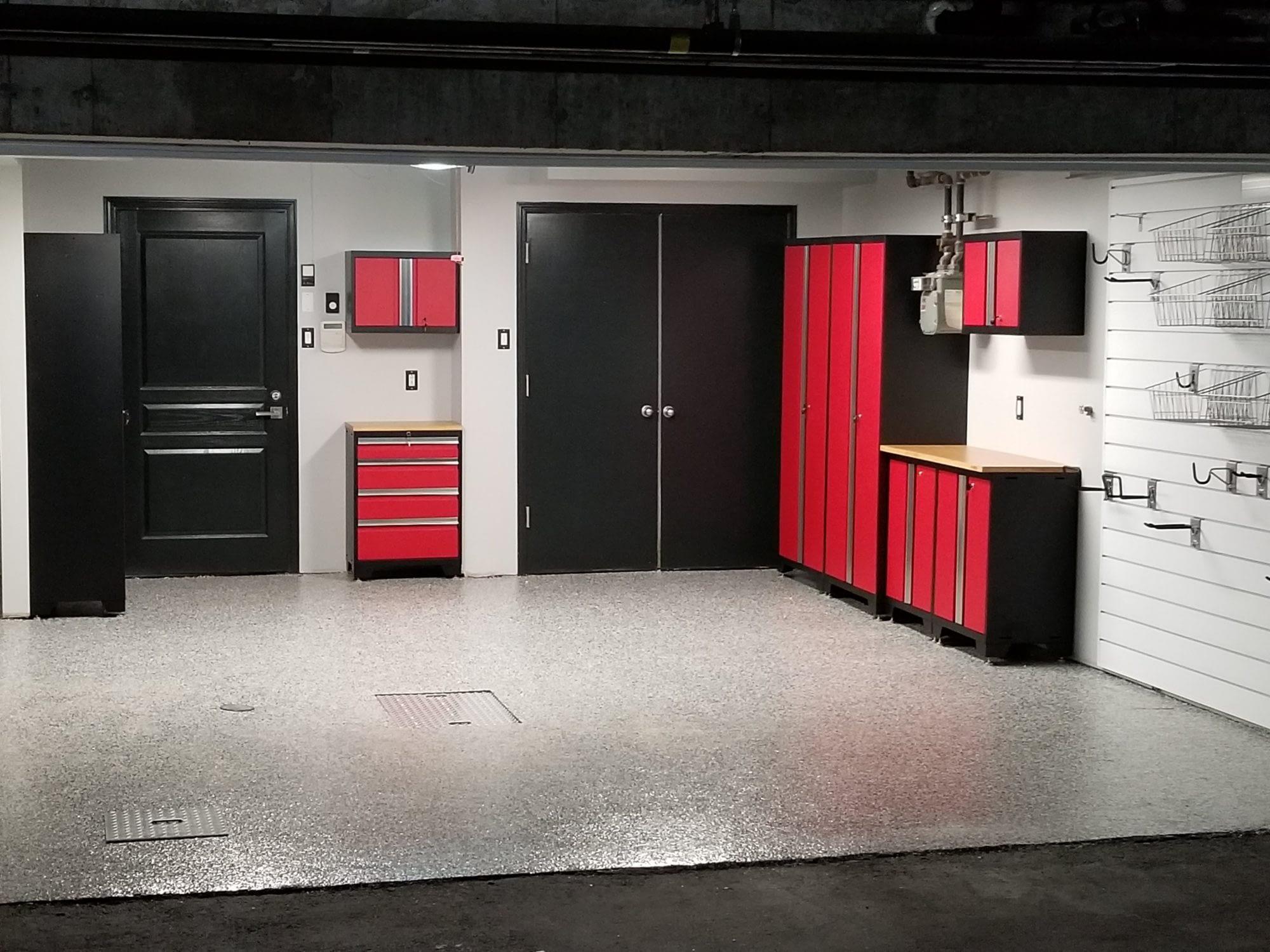 armoires modulaires garage