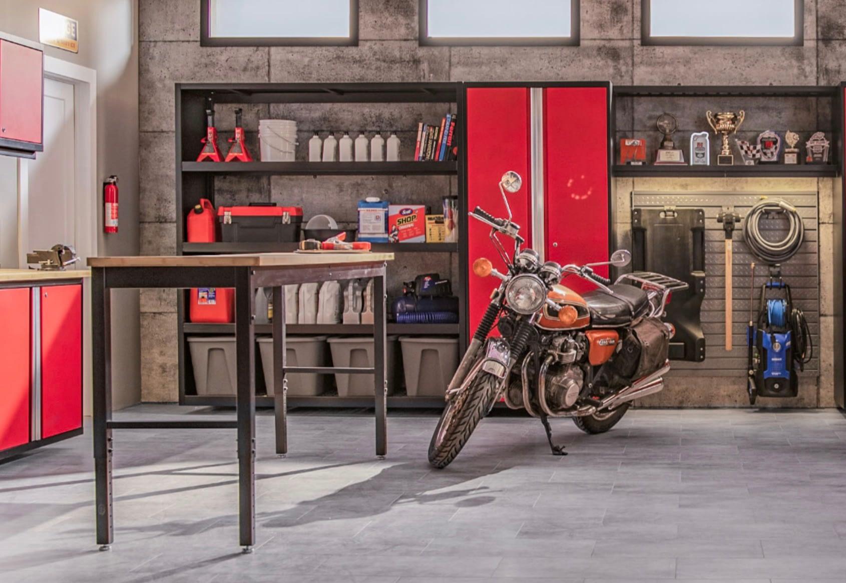 rangement de garage NewAge